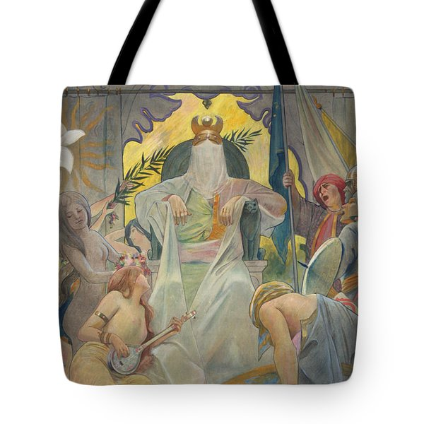 Arabian Nights By Andre Castaigne Tote Bag