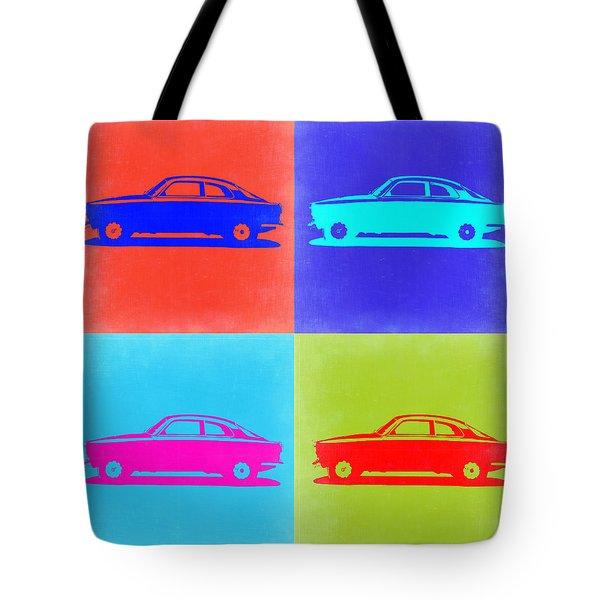Alfa Romeo Gtv Pop Art 2 Tote Bag by Naxart Studio
