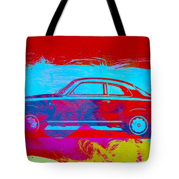 Alfa Romeo  Watercolor 1 Tote Bag by Naxart Studio