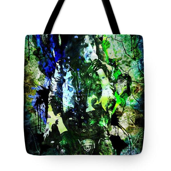 Alice Cooper - Feed My Frankenstein - Original Painting Print Tote Bag