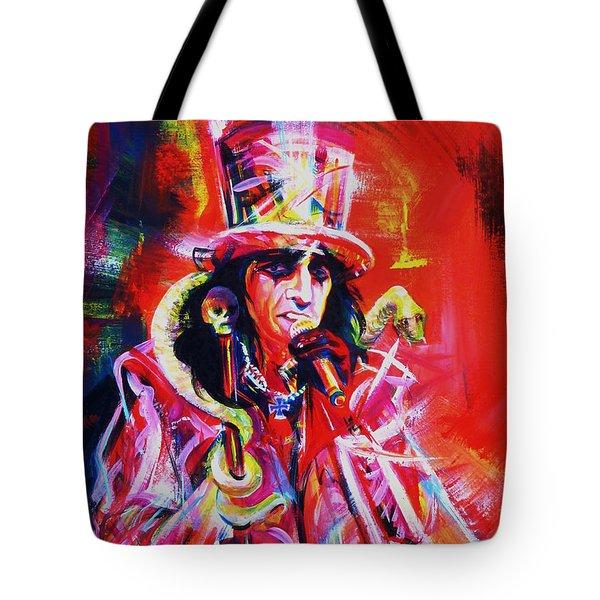 Alice Cooper. The Legend Tote Bag
