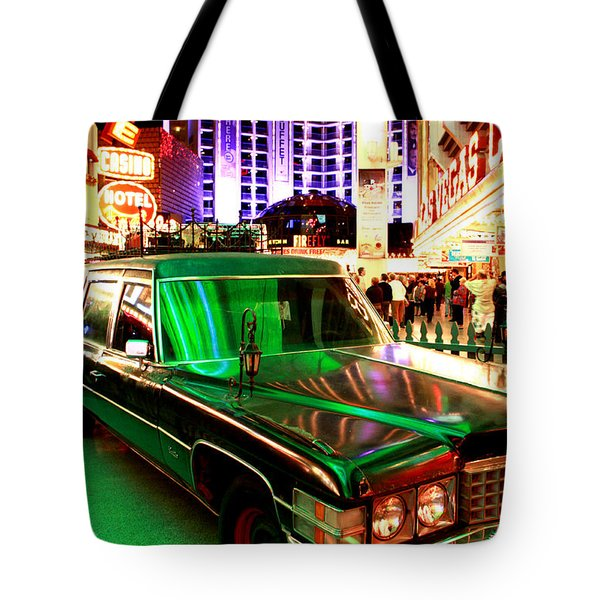 Alice Cooper's Hearse Tote Bag