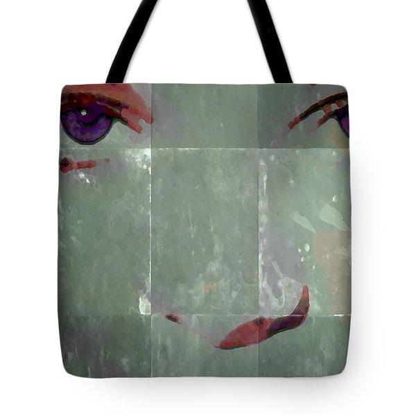 Alice In Green Tote Bag