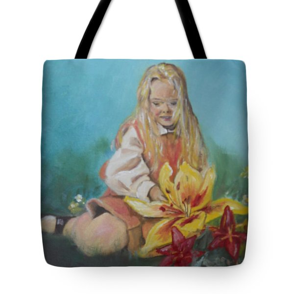 Alice In Wonderland Tote Bag by Joyce Reid