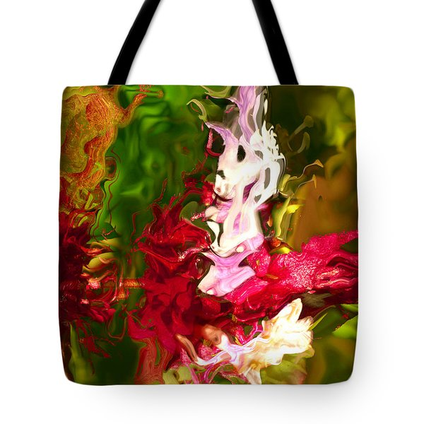 Tote Bag featuring the digital art Alice by Richard Thomas