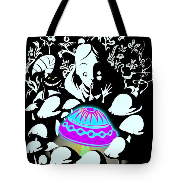 Alice's Magic Discovery Tote Bag