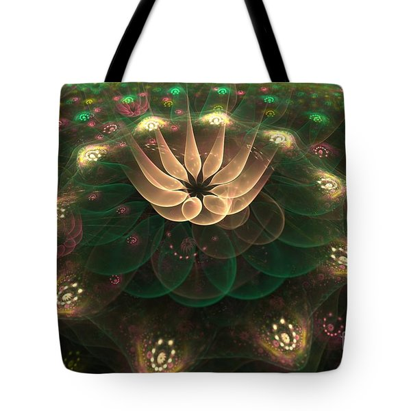 Alien Flower Tote Bag by Svetlana Nikolova