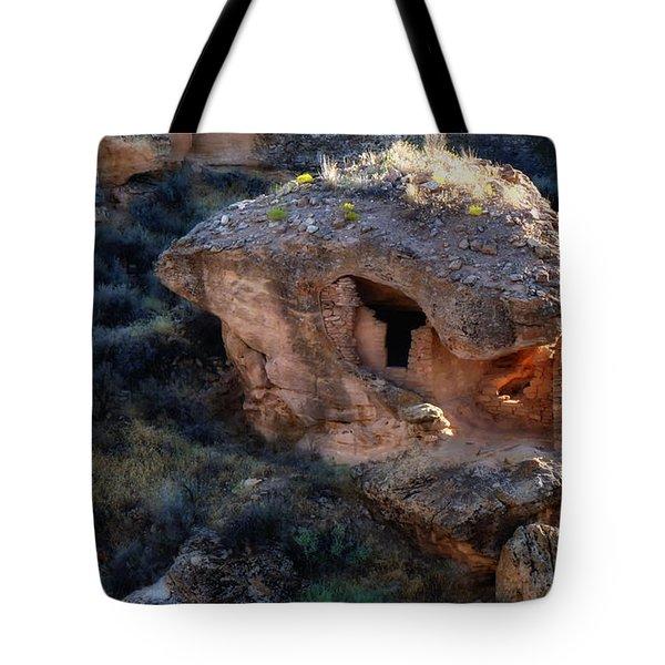 Alien House Tote Bag
