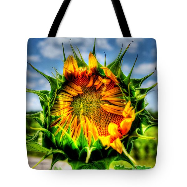 Alien Invasion? Tote Bag by Andy Lawless