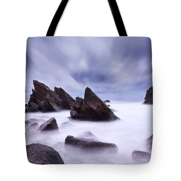 Alien Land Tote Bag by Jorge Maia