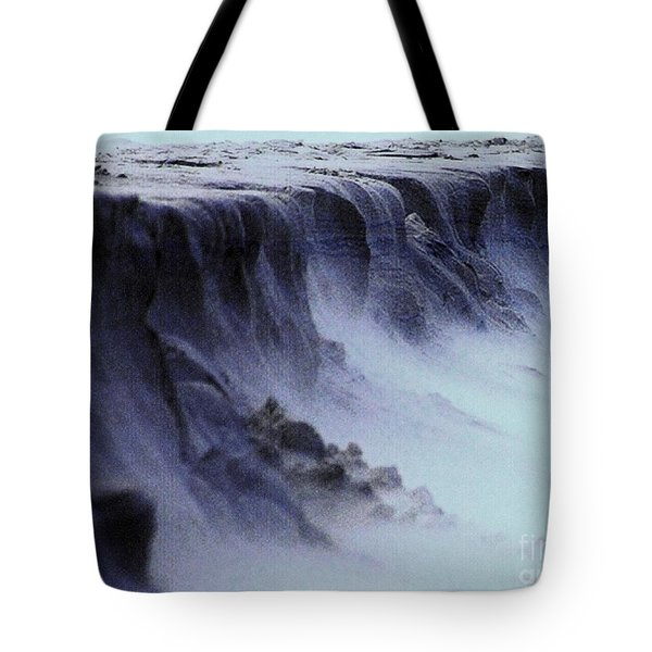 Alien Landscape The Aftermath Part 2 Tote Bag