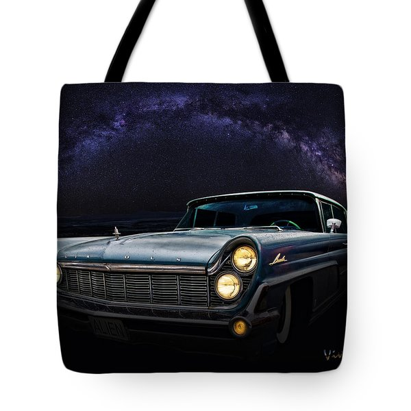 Alien Lincoln Roswell Saturday Night Tote Bag