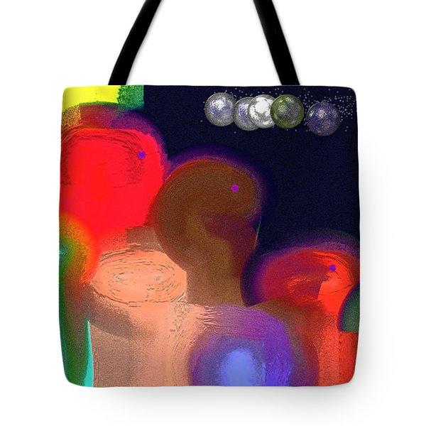 Alien Observations Tote Bag by Lenore Senior