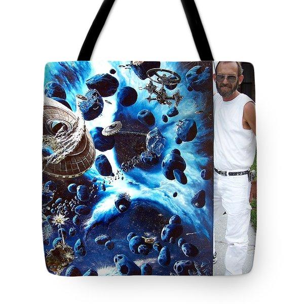 Alien Pirates Tote Bag by Murphy Elliott