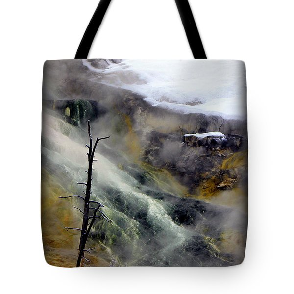 Alien Planet Tote Bag