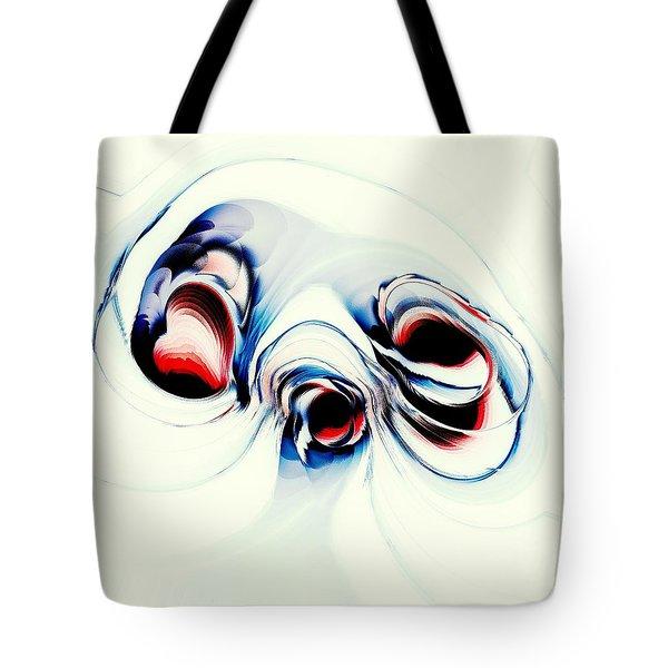 Alien Puppy Tote Bag by Anastasiya Malakhova