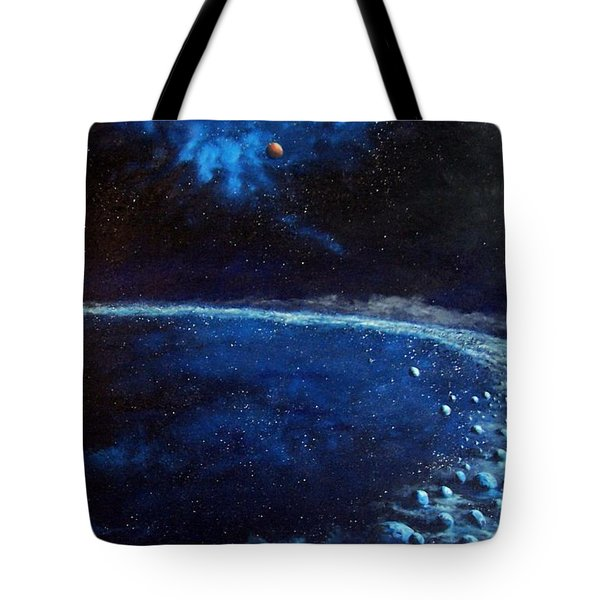 Alien Storm Tote Bag by Murphy Elliott