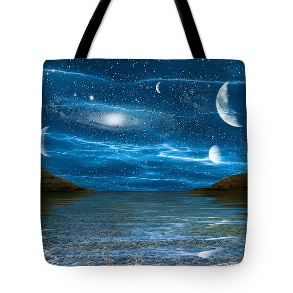 Alien Waterscape Tote Bag by Brian Wallace