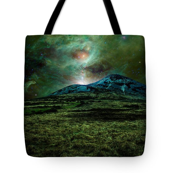 Alien World Tote Bag by Semmick Photo