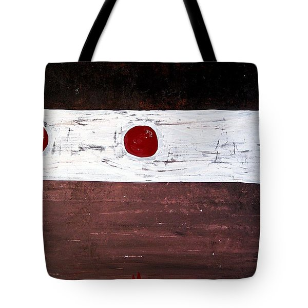 Alignment Original Painting Tote Bag