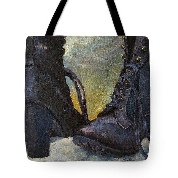 Ali's Boots Tote Bag