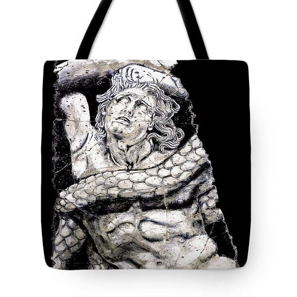 Alkyoneus Tote Bag by Steve Bogdanoff