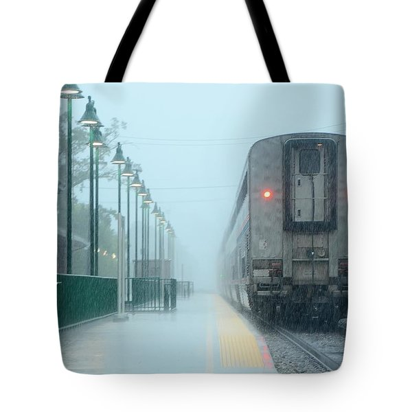All Aboard Tote Bag by Charlotte Schafer