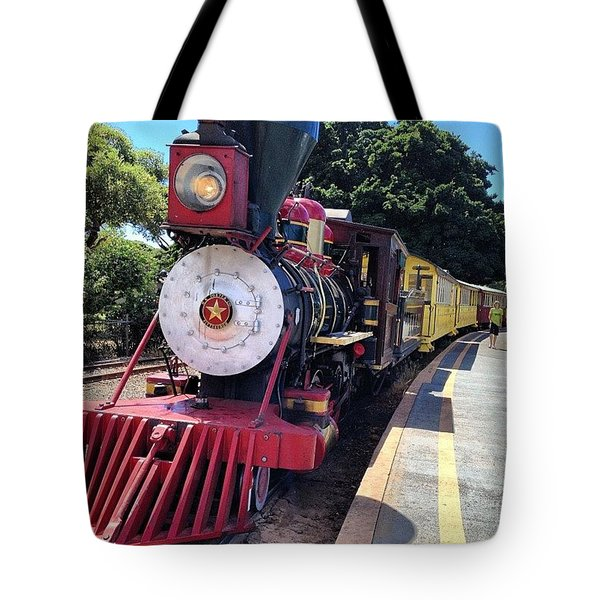 All Aboard Tote Bag by Darice Machel McGuire