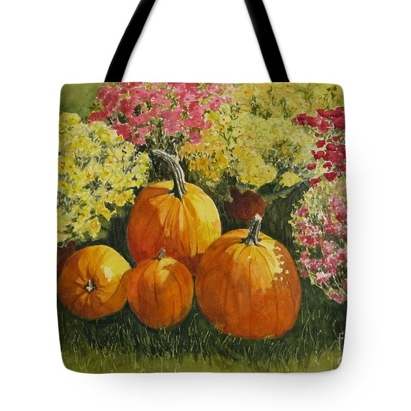 All About The Pumpkins Tote Bag