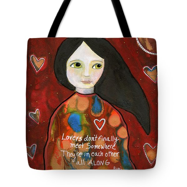 All Along Tote Bag