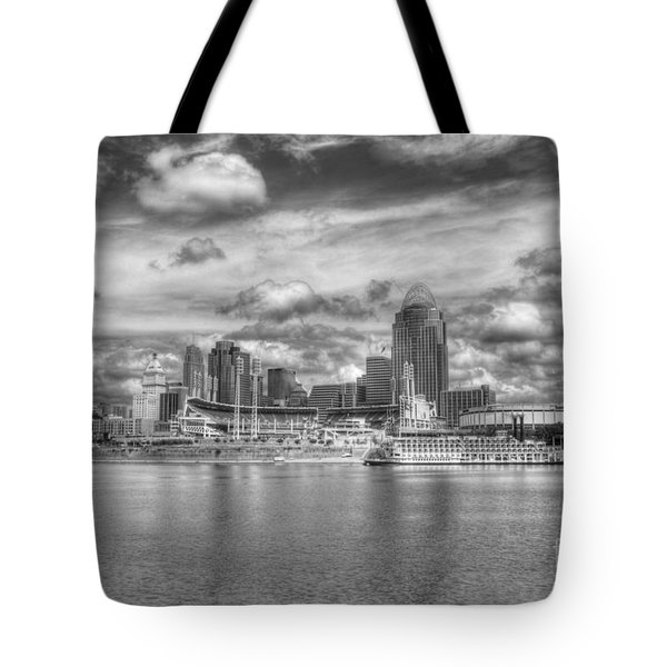 All American City 2 Bw Tote Bag