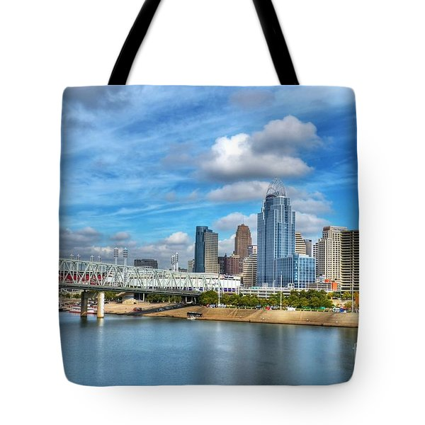All American City 3 Tote Bag