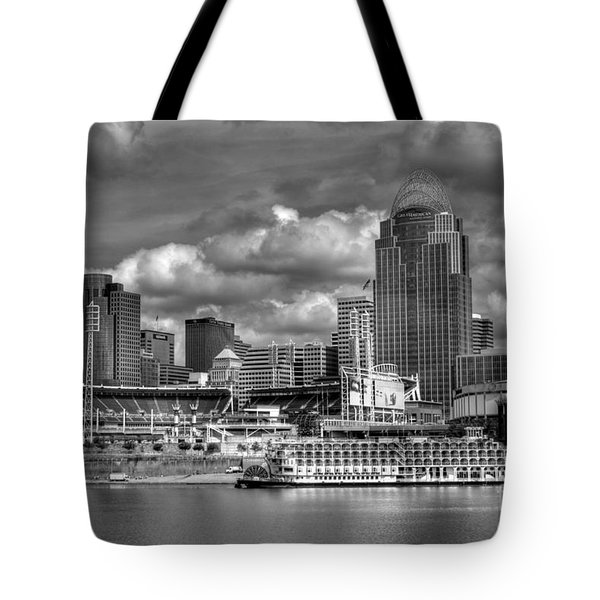 All American City Bw Tote Bag
