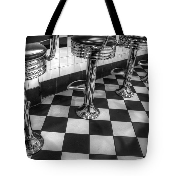 All American Diner Tote Bag by Bob Christopher