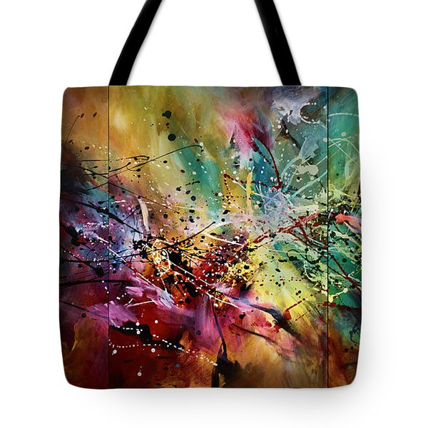 'all At Once' Tote Bag by Michael Lang