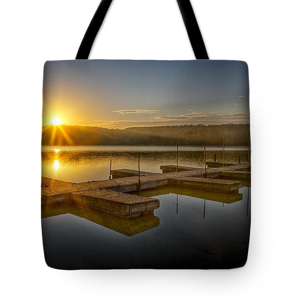 All By Myself Tote Bag by Jeff Burton