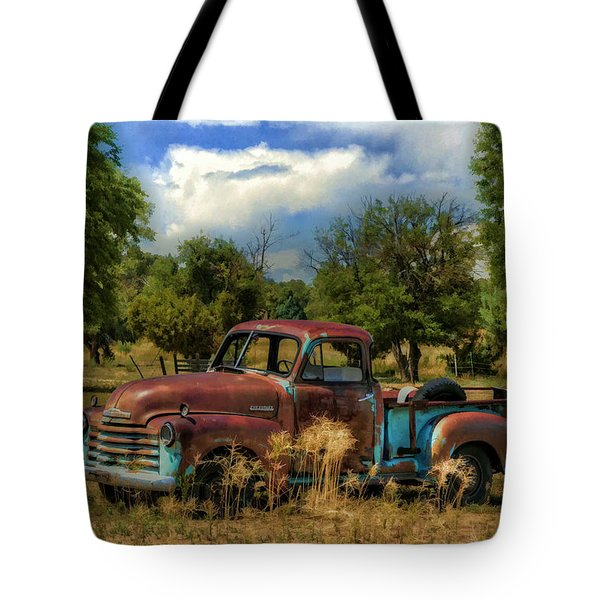 All By Myself Tote Bag by Ken Smith