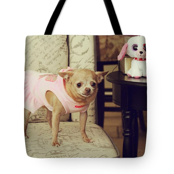 All Dressed Up Tote Bag by Laurie Search