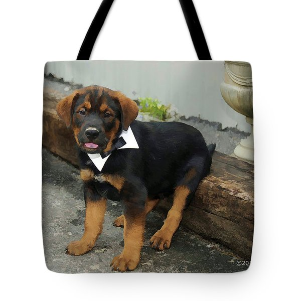 All Dressed Up Nowhere To Go Tote Bag by Kenny Francis