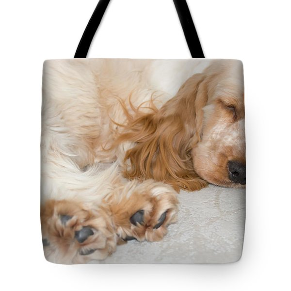 All Feet And Ears Tote Bag by Susan Molnar
