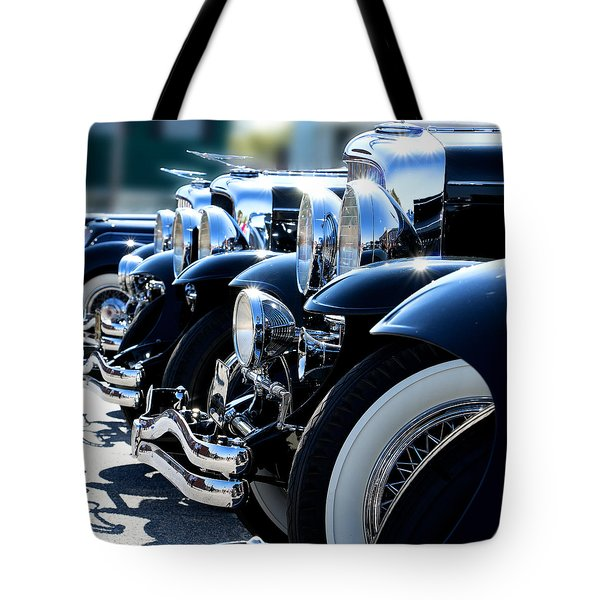 Tote Bag featuring the photograph All In Line by Rebecca Davis