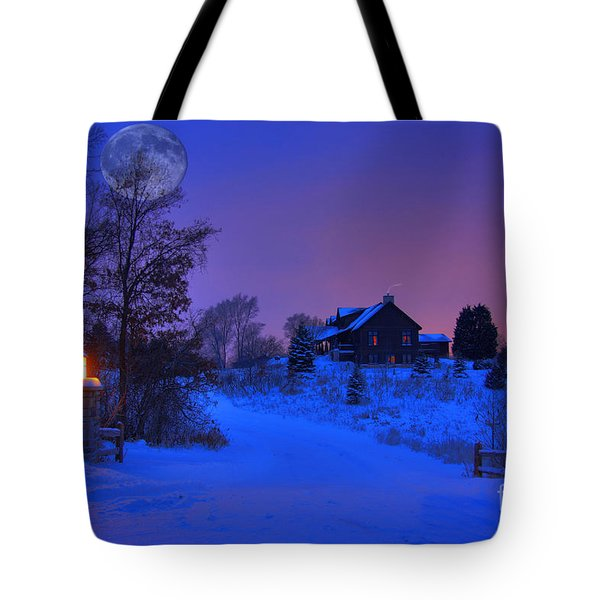 All Is Calm Tote Bag
