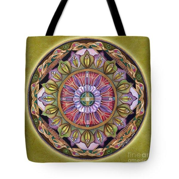 All Is Well Mandala Tote Bag