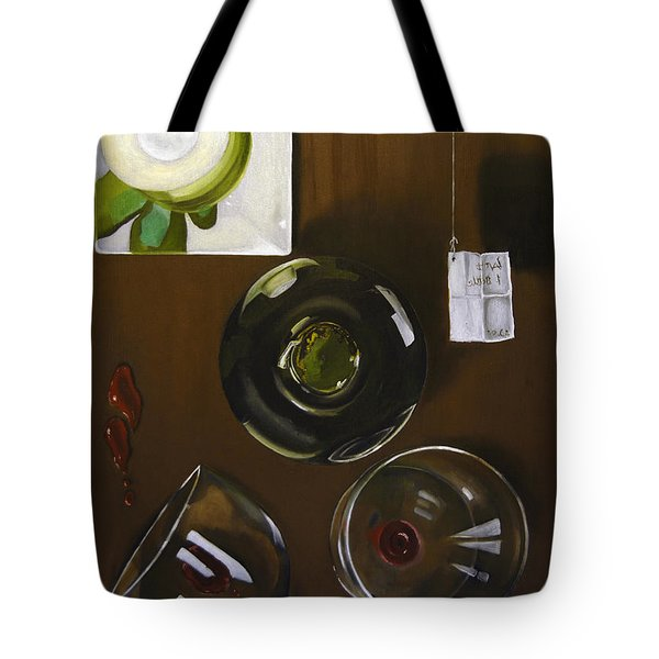 All Looked Fine From Our Perspective Tote Bag