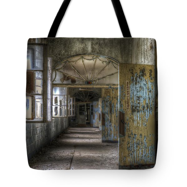 All Opened Tote Bag by Nathan Wright