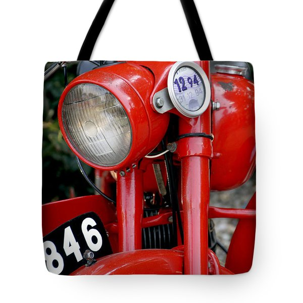 All Original English Motorcycle Tote Bag