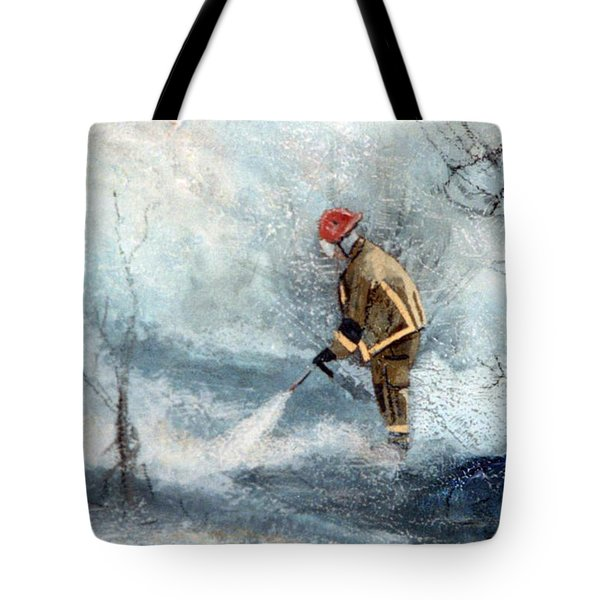 All Out Tote Bag by Tanya Provines