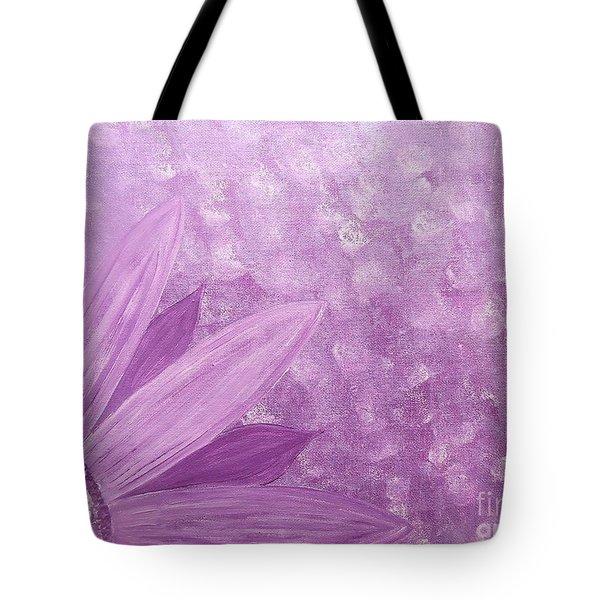 All Purple Flower Tote Bag