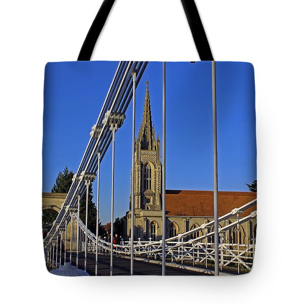 All Saints Church Tote Bag