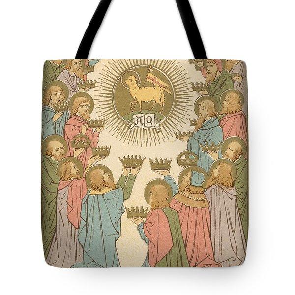 All Saints Tote Bag by English School
